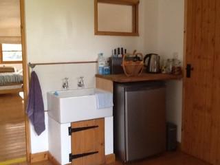 indoor kitchen area